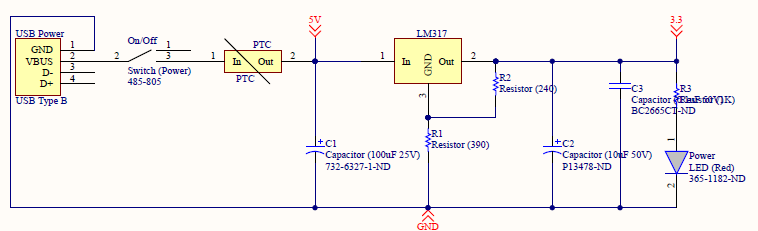 Power Circuit Detail